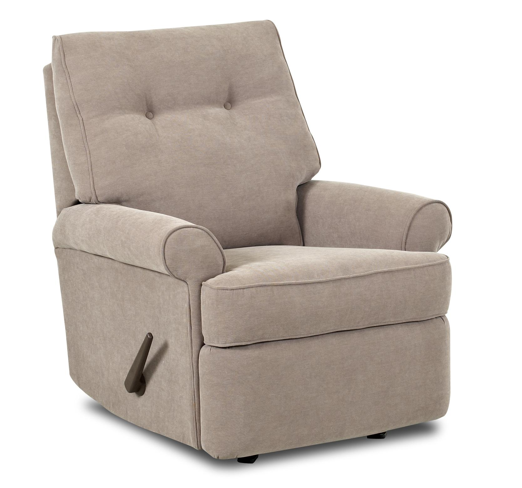 Image of: Simple Rocking Recliner Chair