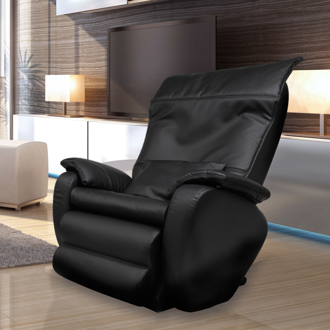 Image of: simple zero gravity massage chair