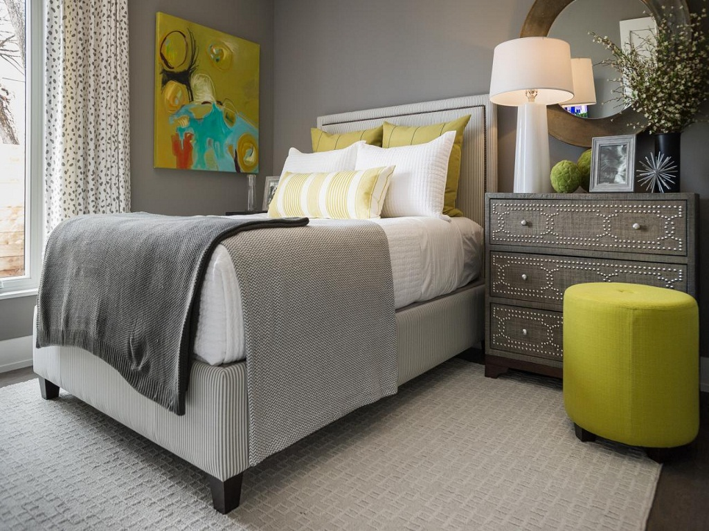Image of: Single Bed Guest Room Ideas
