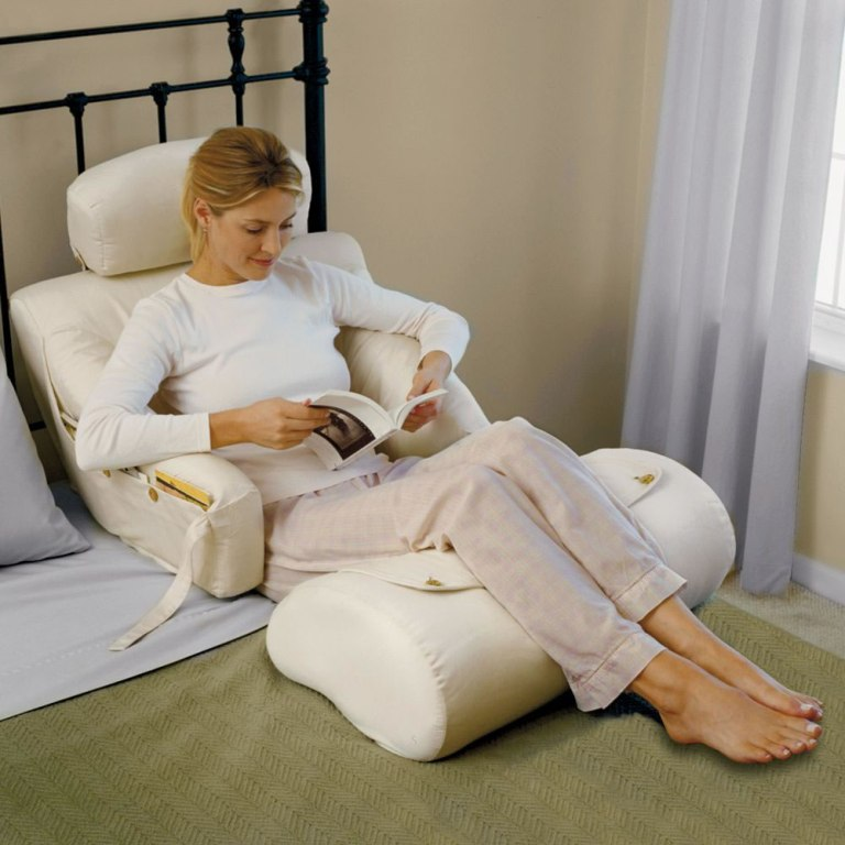 Image of: Sit Up In Bed Pillow In Australia