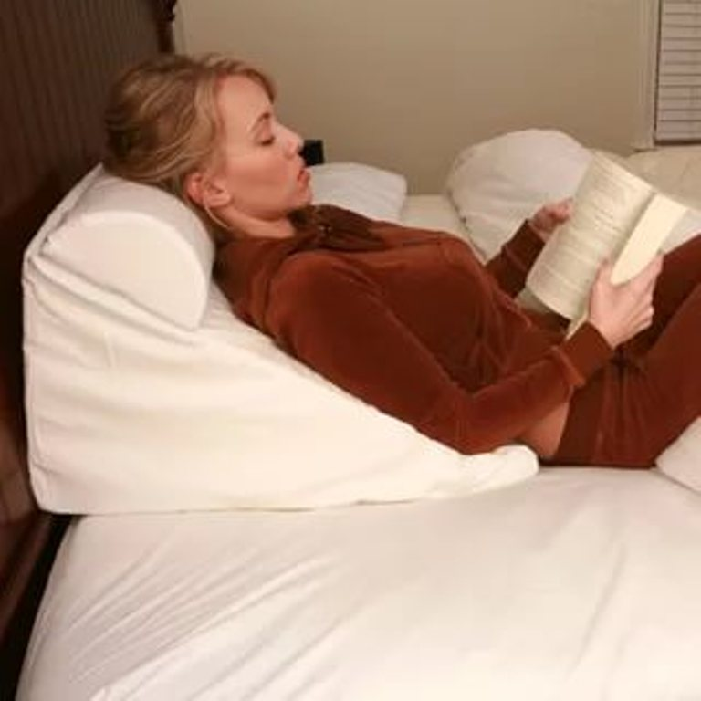 Image of: Sit Up In Bed Pillow