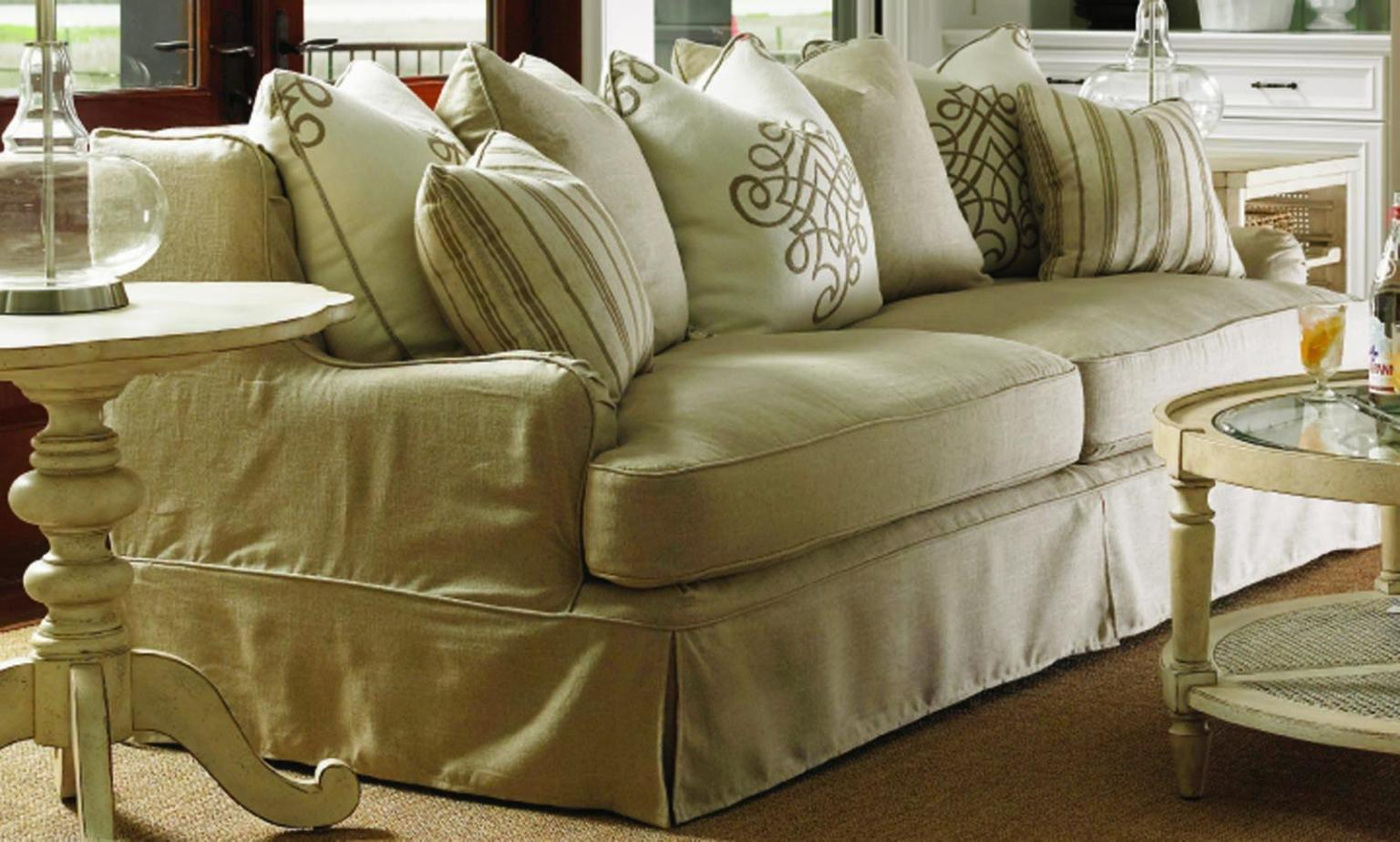 Image of: Slipcover Sofa Furniture