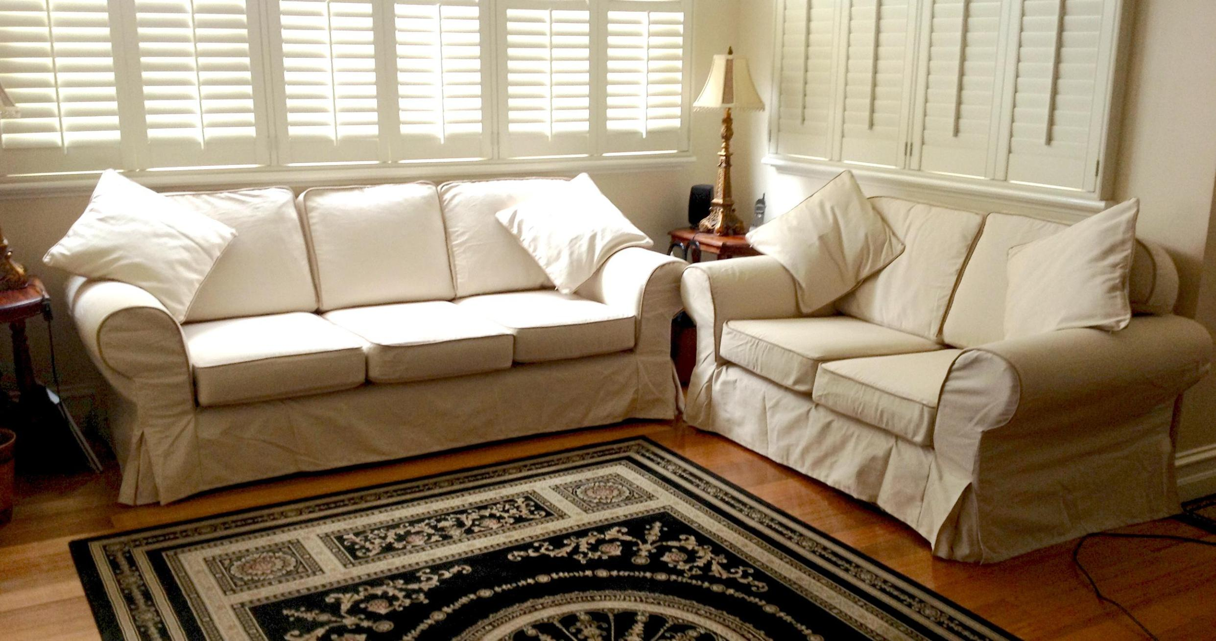 Image of: Slipcover Sofa Living Room Ideas