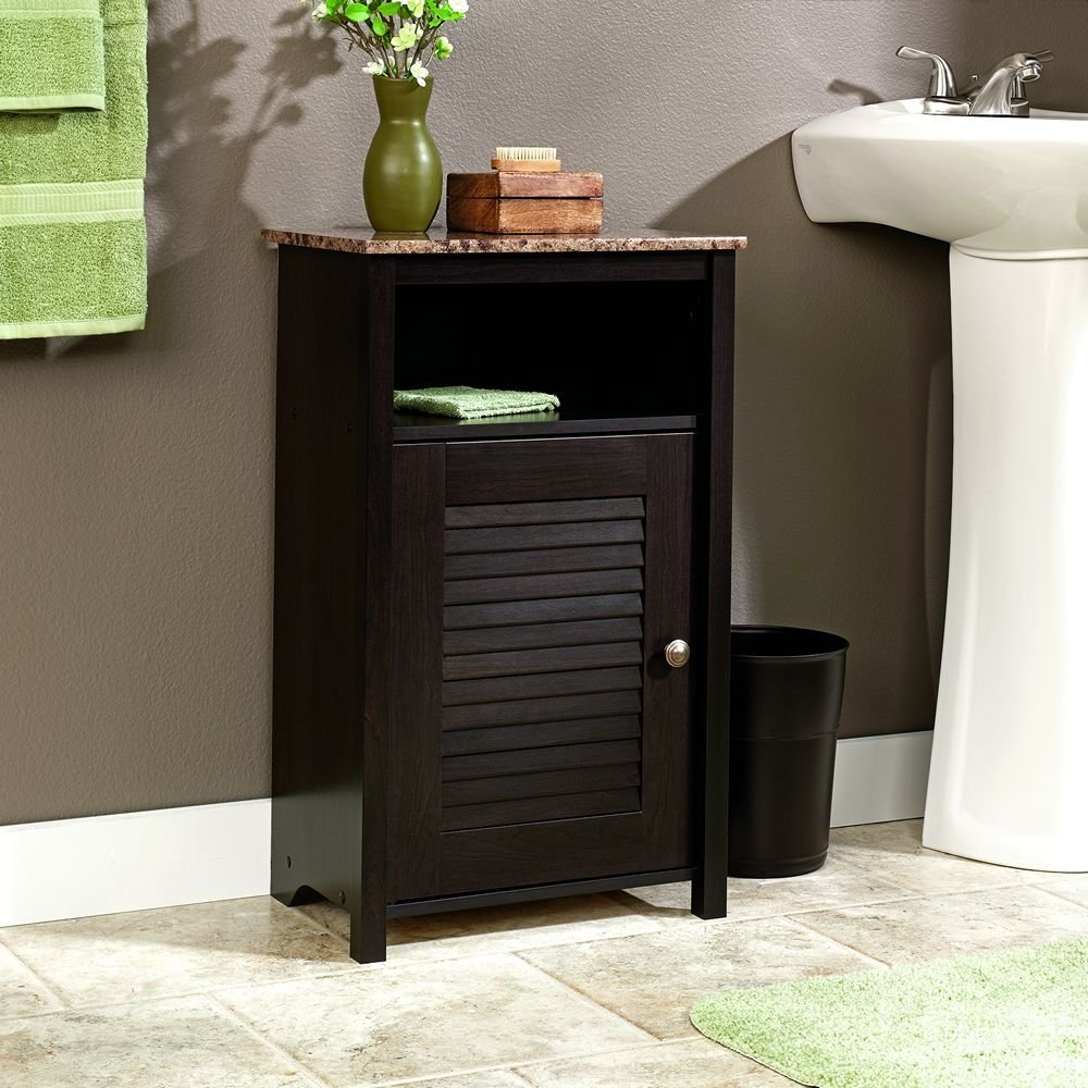 Image of: small bathroom linen cabinets