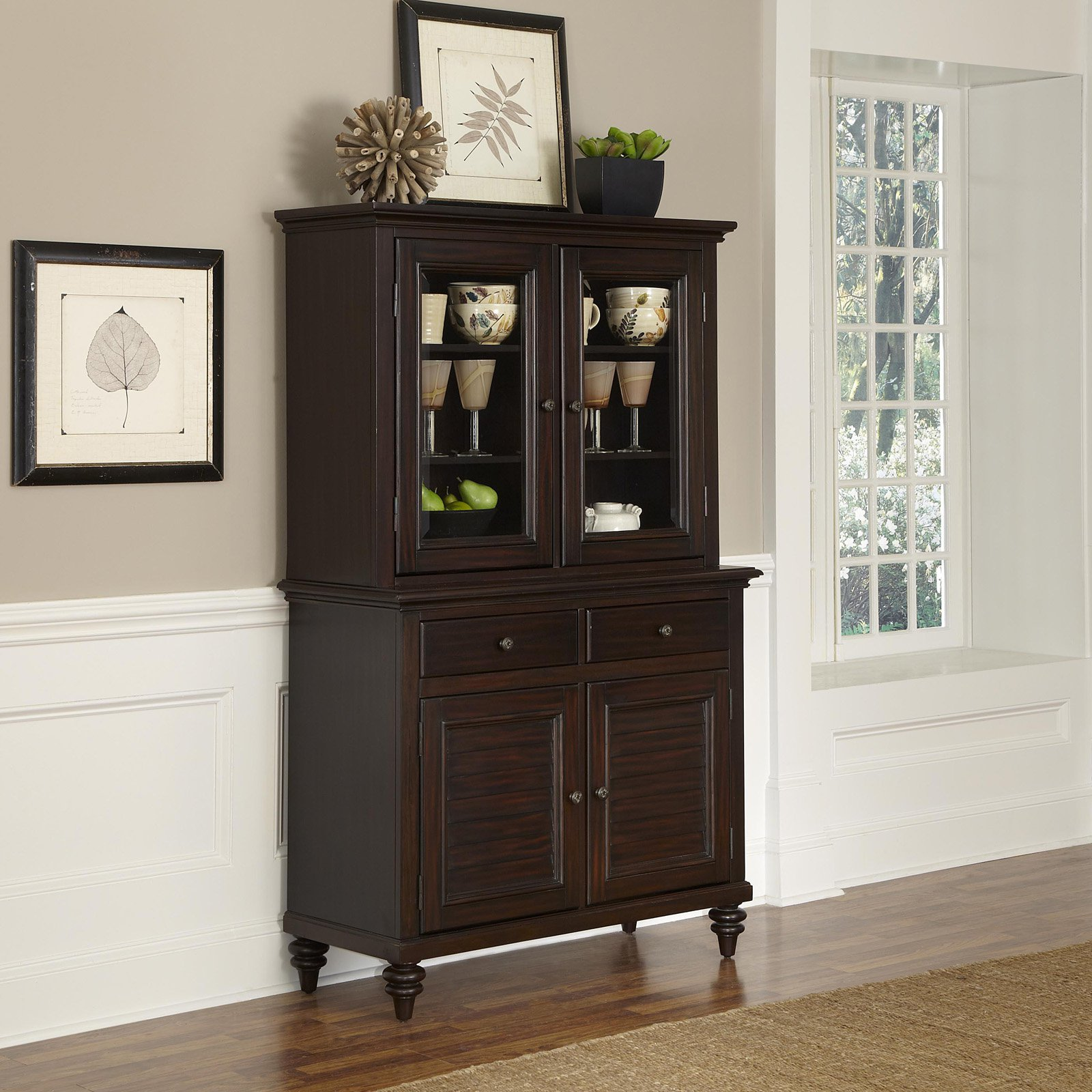 Image of: small china cabinets and hutches