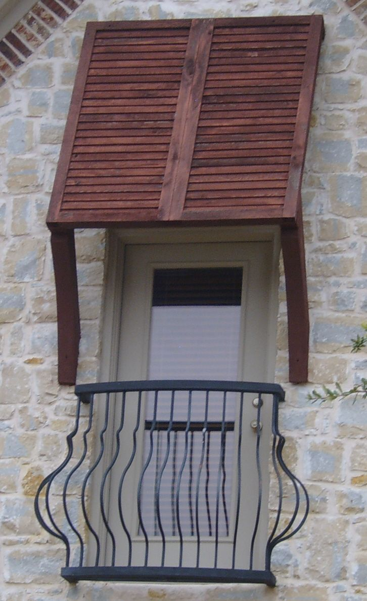 Image of: Small Outdoor Window Awnings