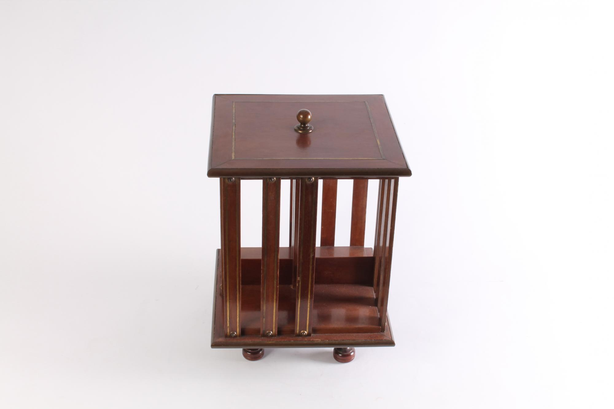Image of: Small Rotating Bookcase