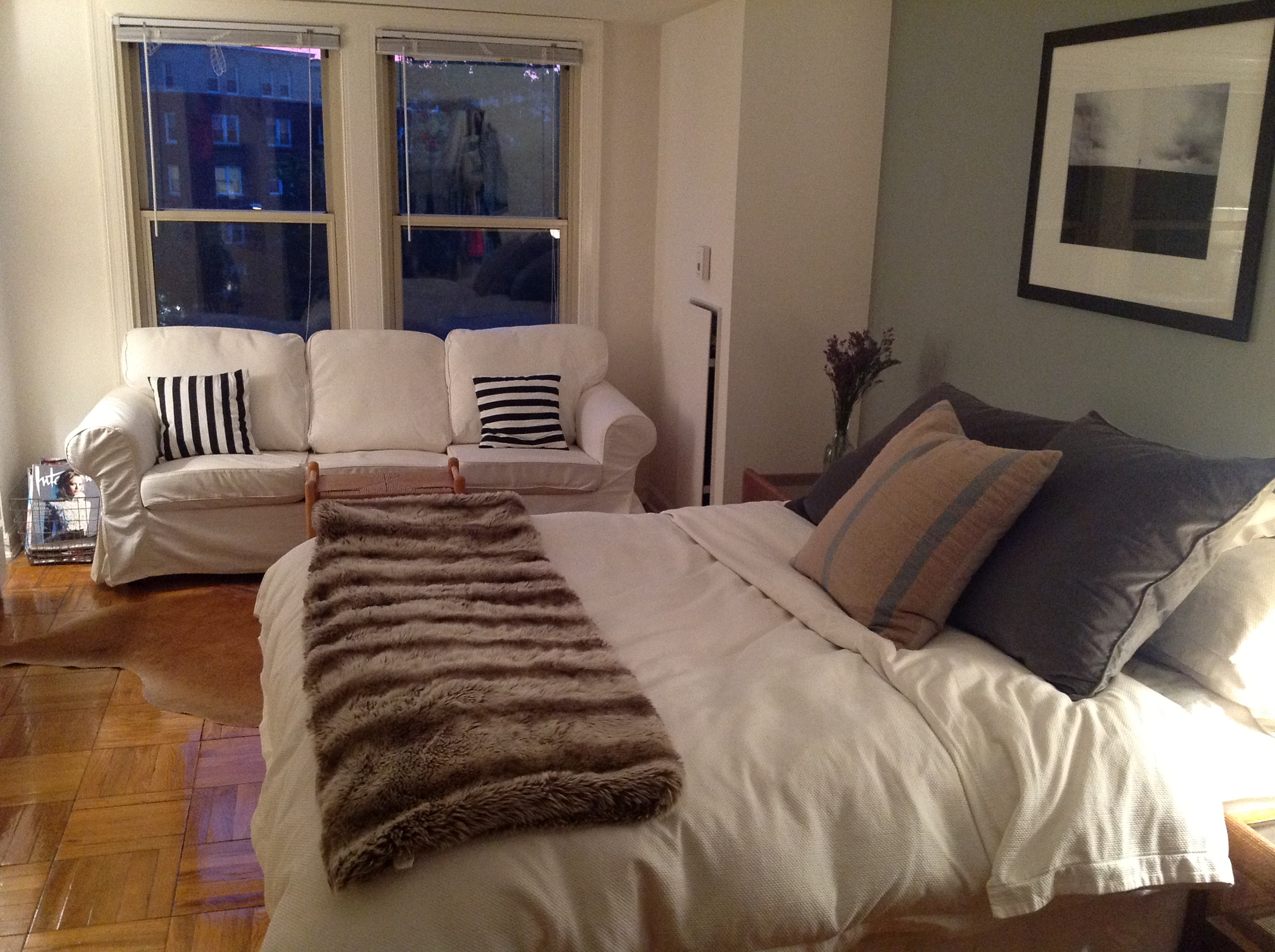 Image of: Small Sofa For A Bedroom