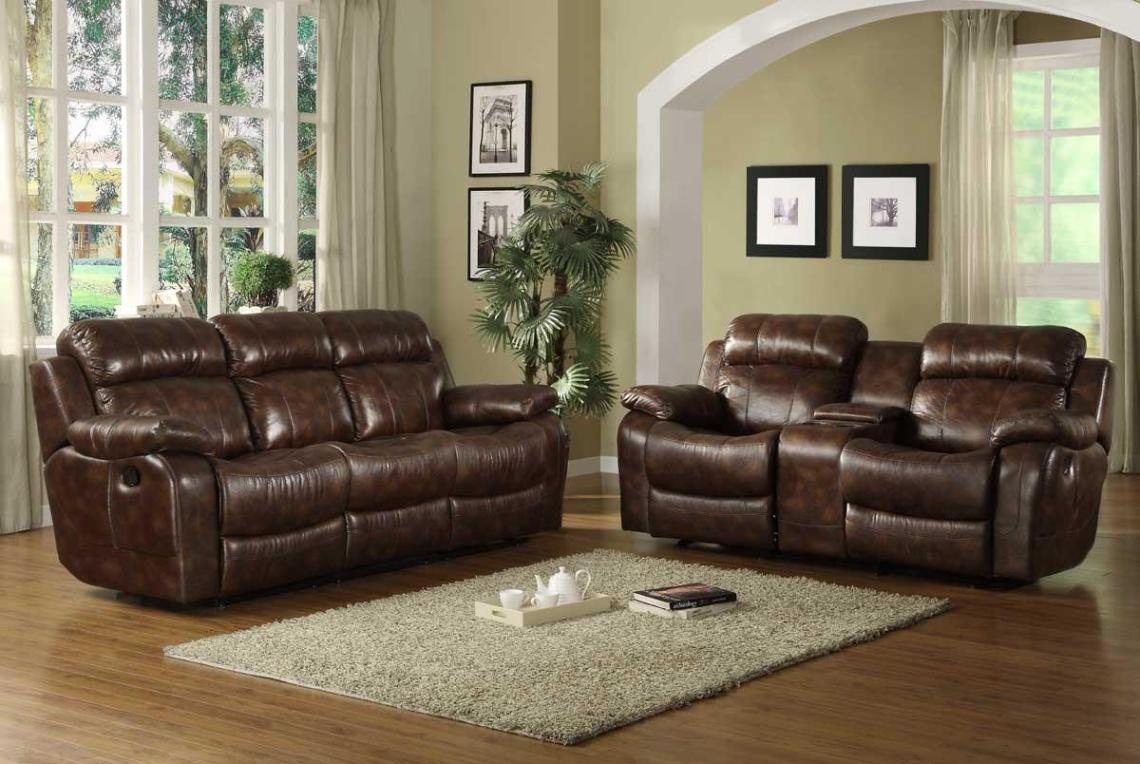 Image of: Sofa And Recliner Set