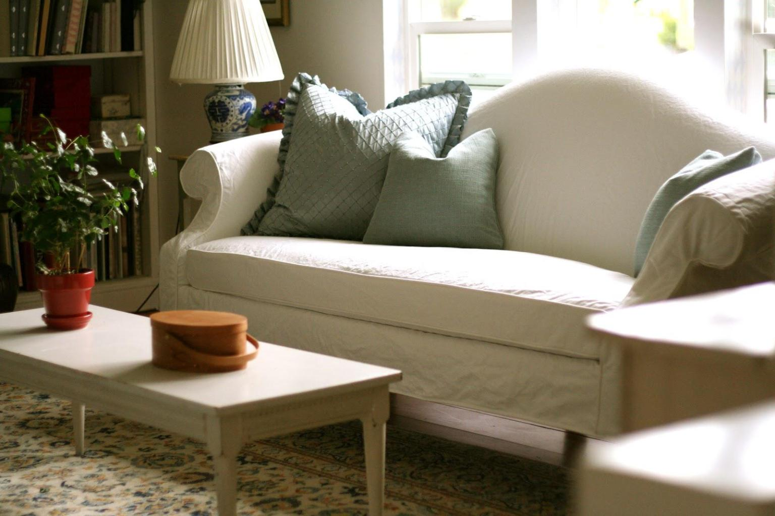 Image of: Sofa Covers Slipcovers