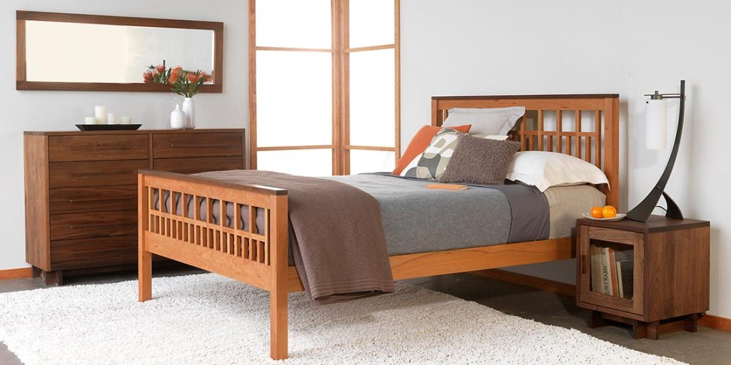 Image of: Solid Wood Bedroom Furniture Calgary