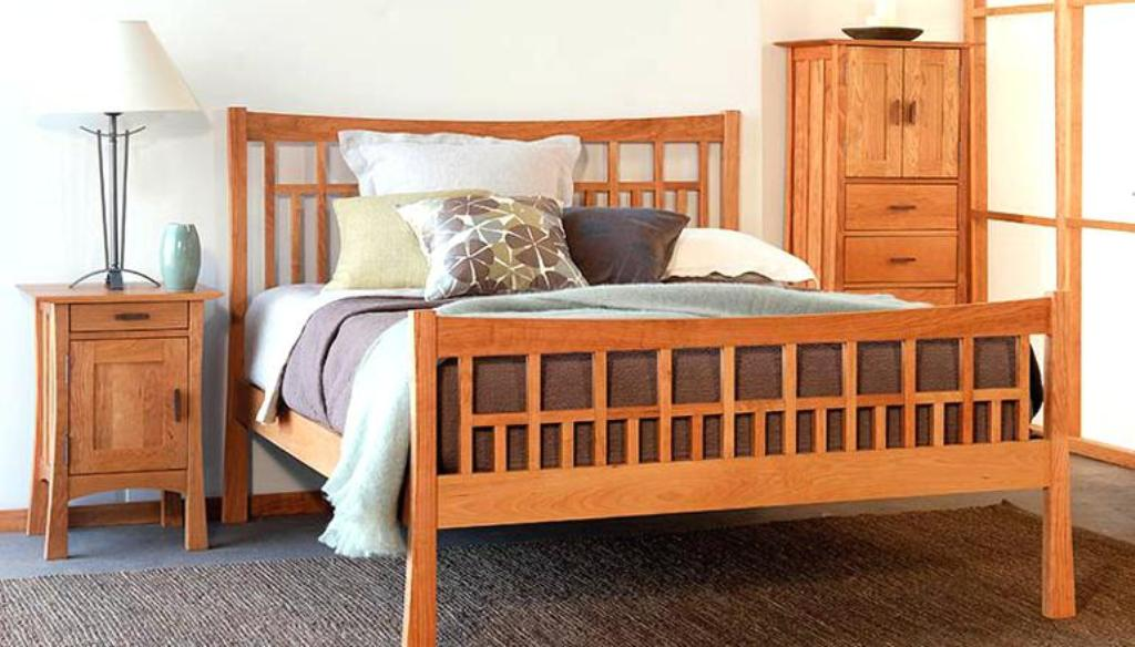 Image of: Solid Wood Bedroom Furniture Ontario