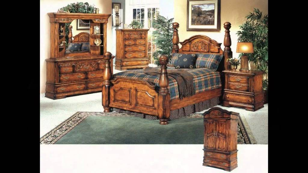 Image of: Solid Wood Bedroom Furniture Toronto