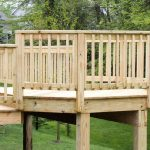 Solid Wood Deck Railing Ideas