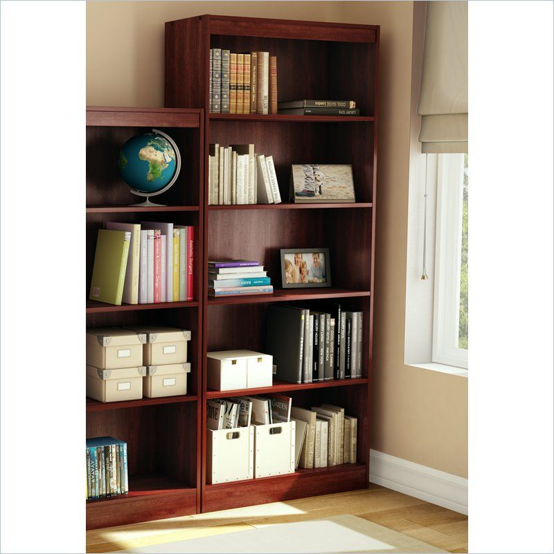 Image of: South Shore Bookcase best