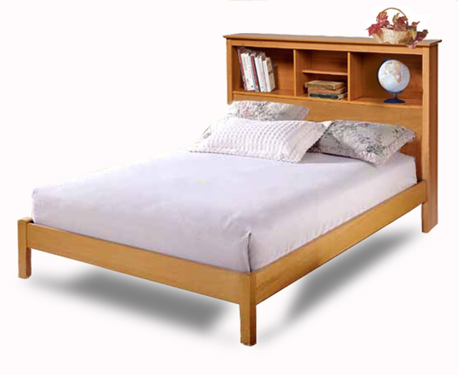 Image of: South shore bookcase headboard full
