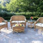 stackable outdoor wicker chairs