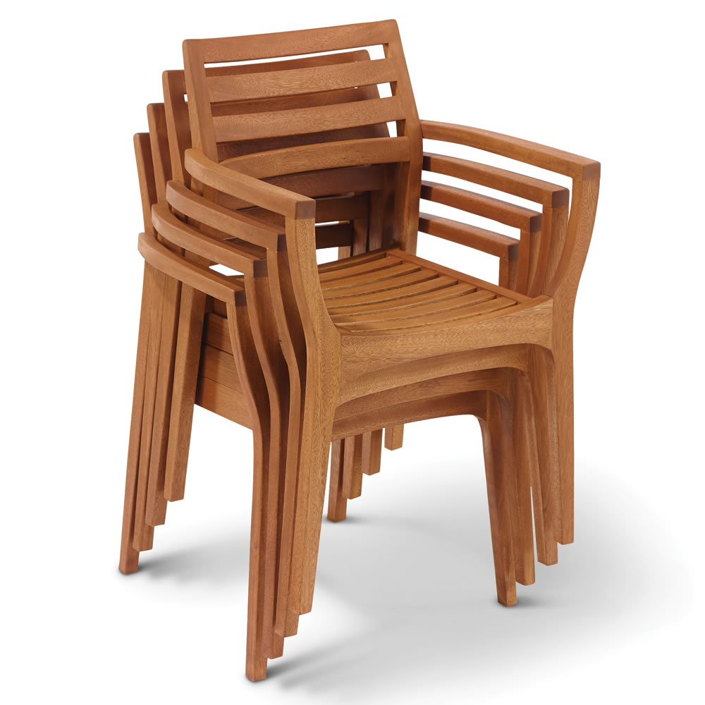 Image of: stackable patio chairs sets