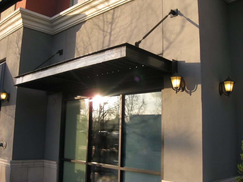 Steel Industrial Awnings