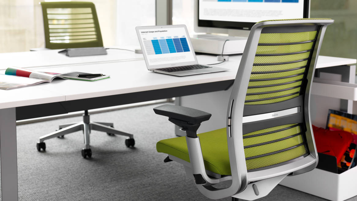 Image of: steelcase think chair ergonomic