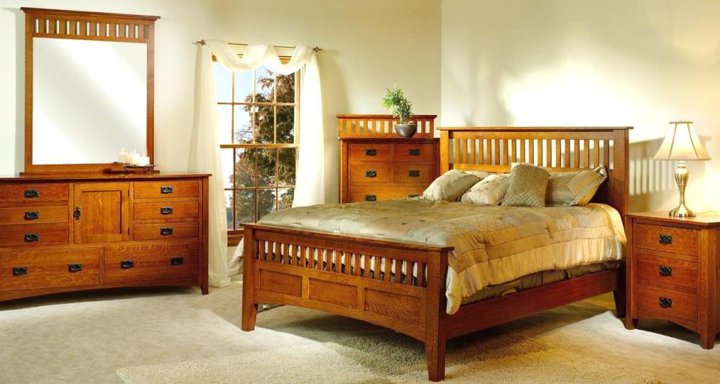 Image of: Stickley Mission Style Bedroom Furniture