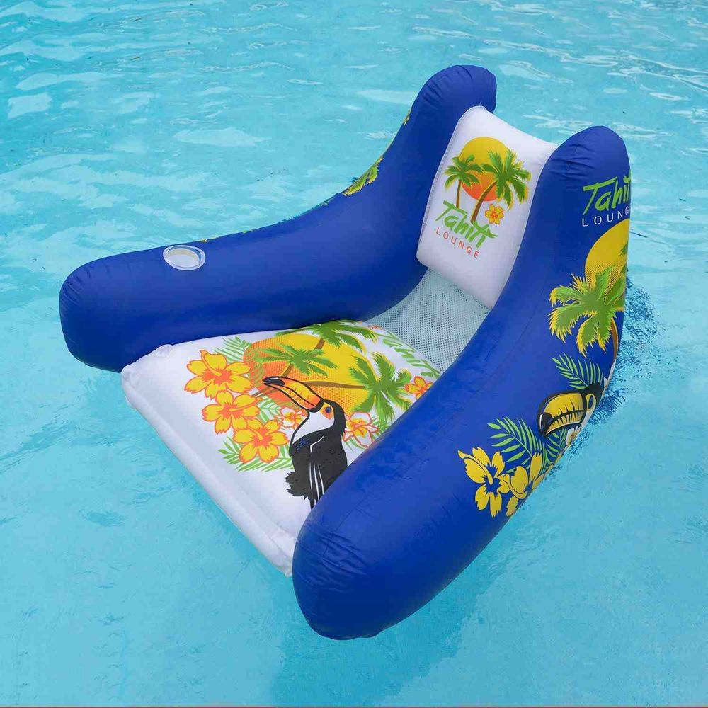 Image of: style floating pool chairs