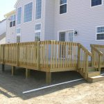 Stylish Pressure Treated Decking