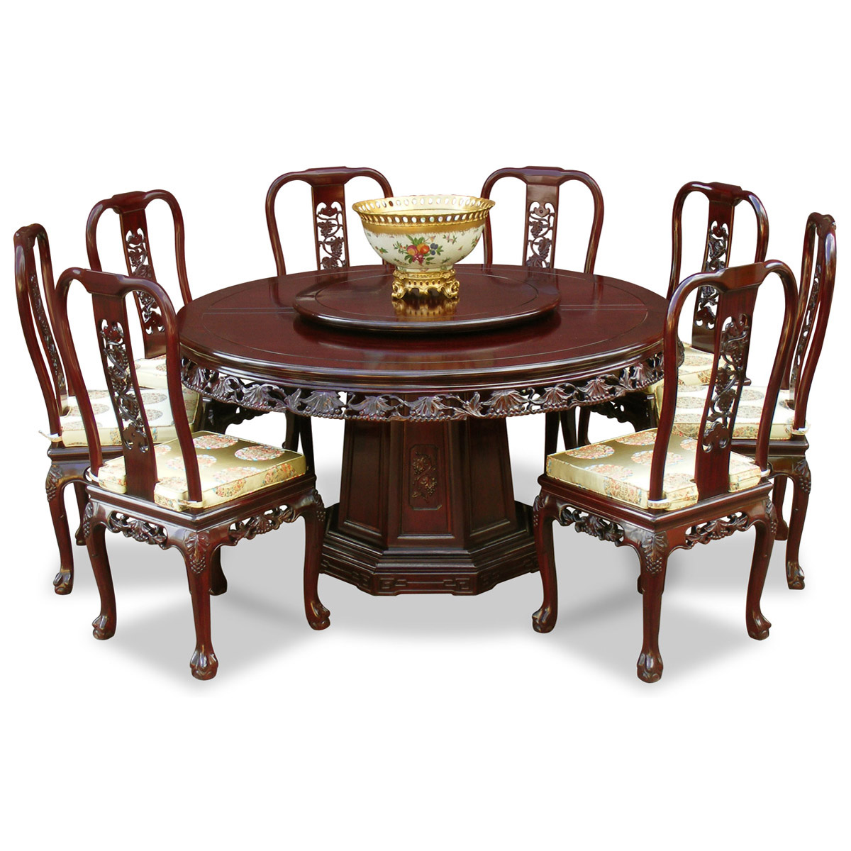 Image of: Stylish Queen Anne Dining Chairs