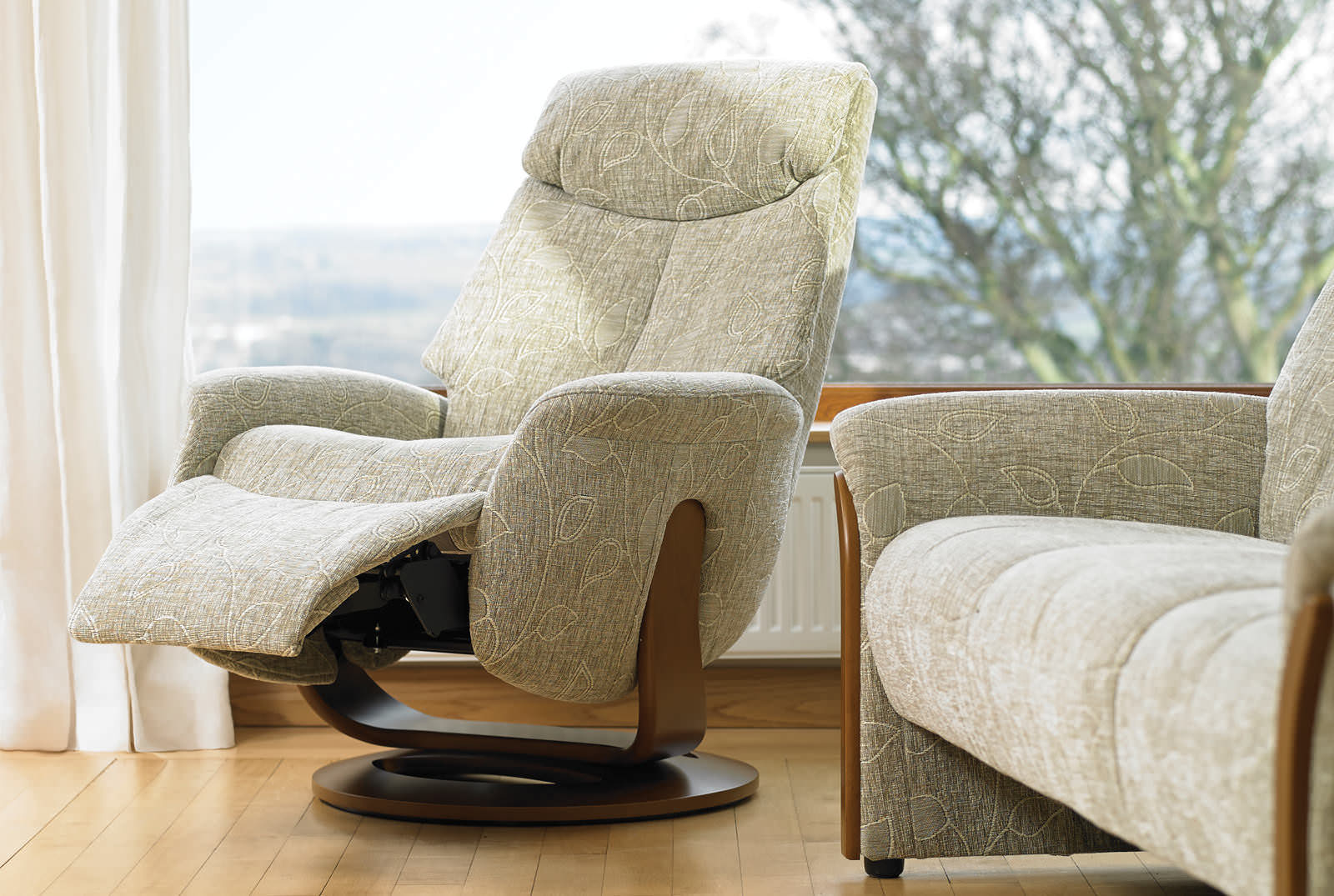 Image of: stylish swivel recliner chairs