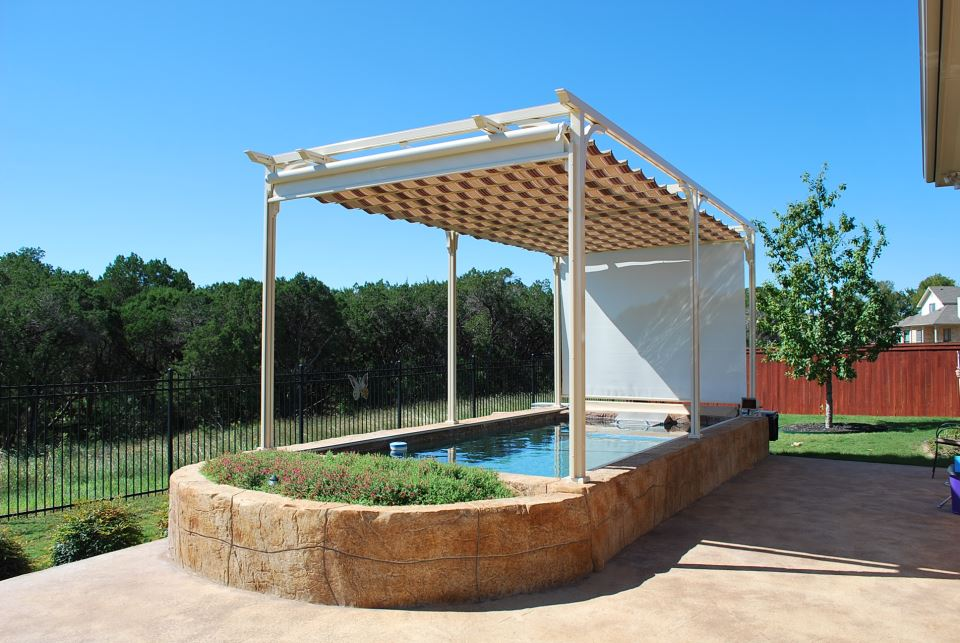 Summer Pool Awnings