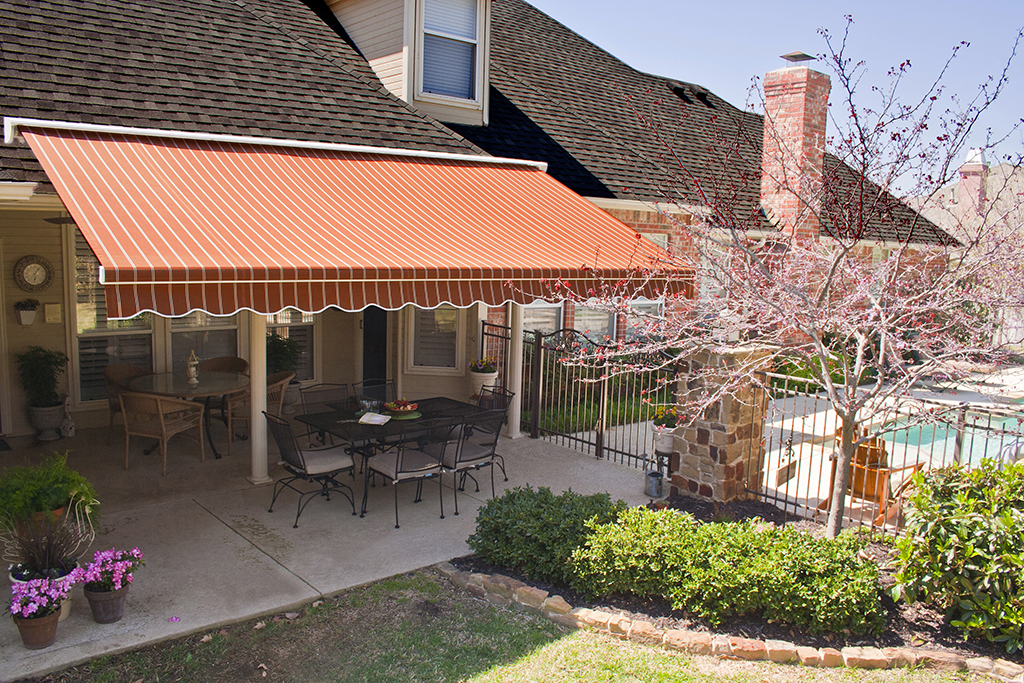 Image of: Sunbrella Retractable Awning Color