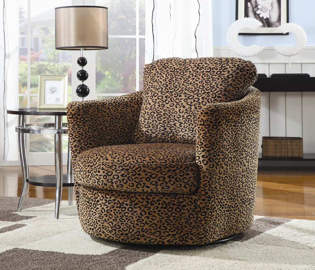 Image of: Swivel Accent Chairs Image