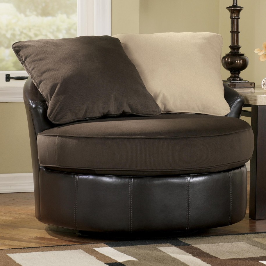 Image of: Swivel Accent Chairs Model