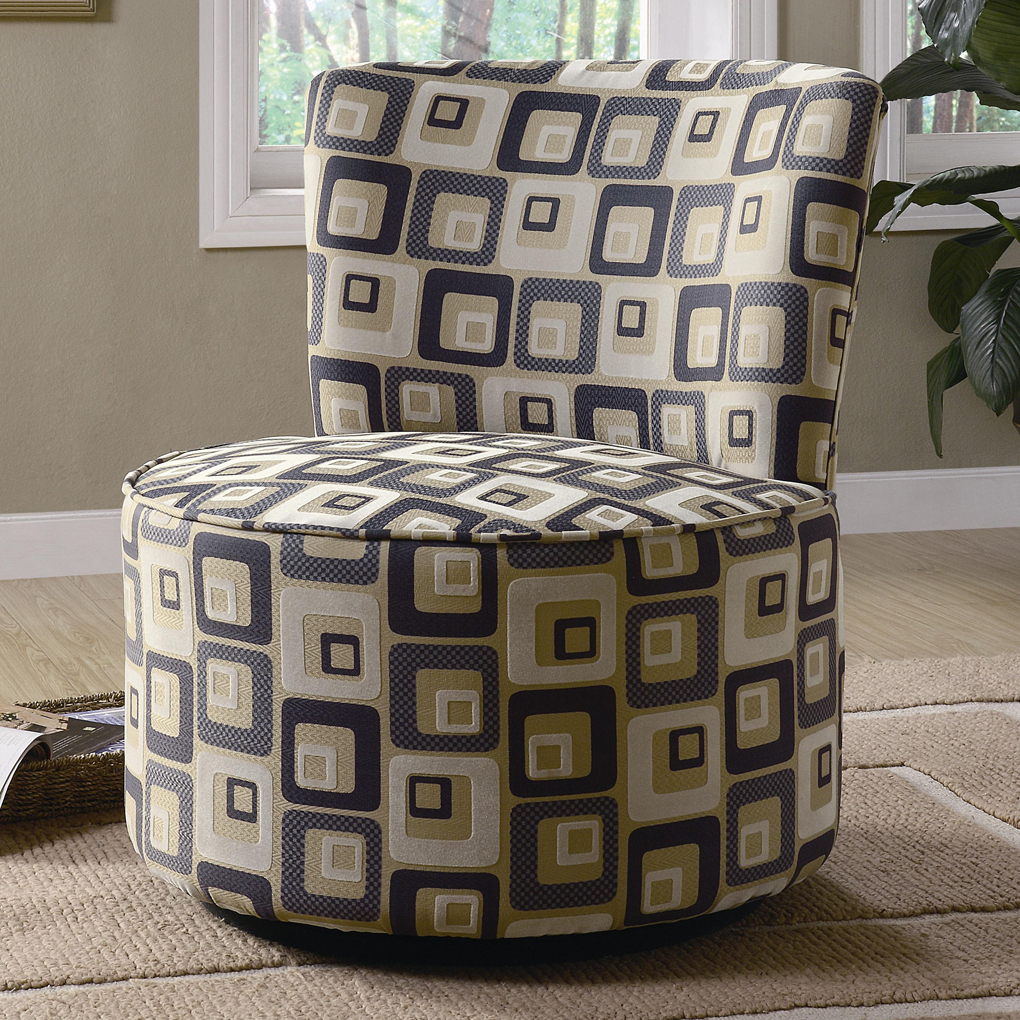 Image of: Swivel Accent Chairs Photo