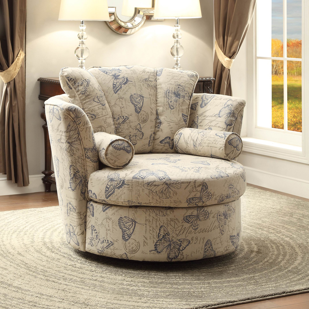 Image of: Swivel Accent Chairs Picture