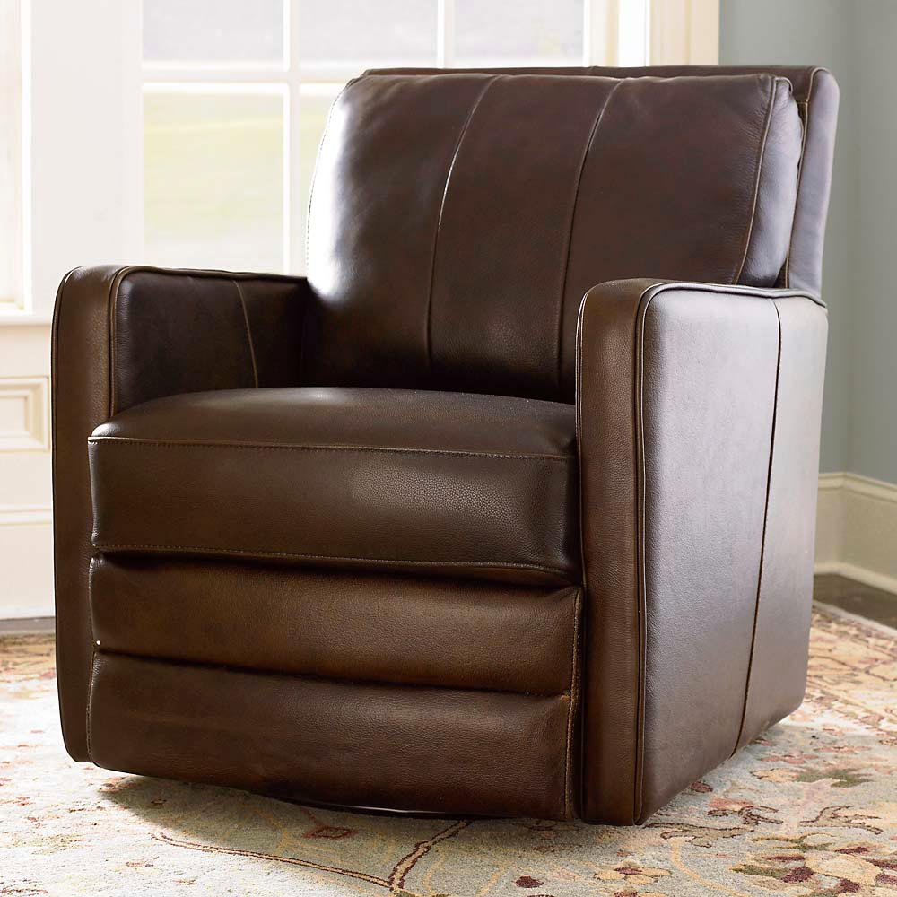 Image of: swivel recliner chairs design