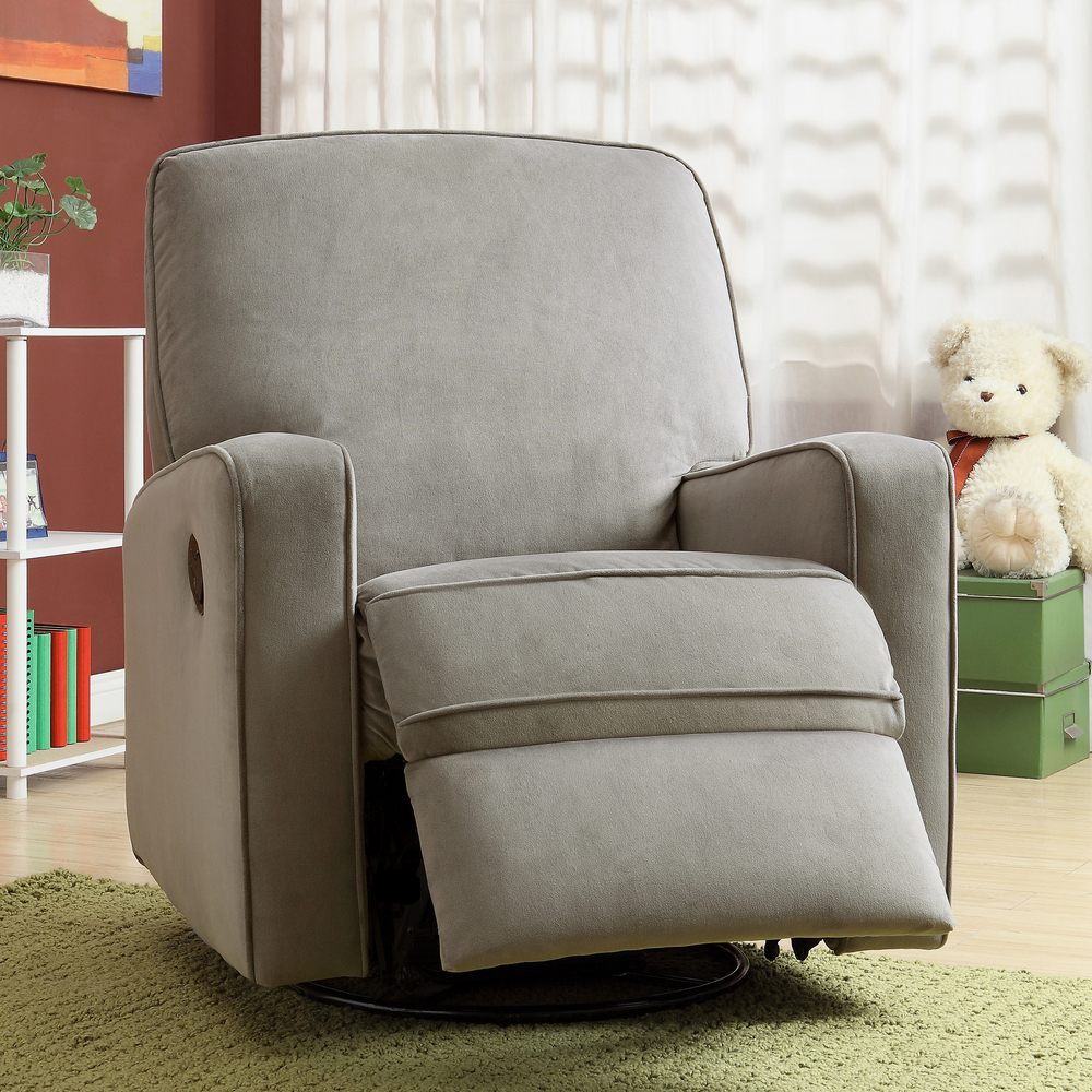 Image of: beauty swivel recliner chairs image