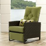 synthetic outdoor recliner chair