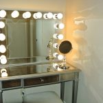 Table Top Vanity Mirror With Light Big Size