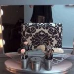 Table Top Vanity Mirror With Lighted