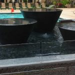 Table Water Fountain Pots