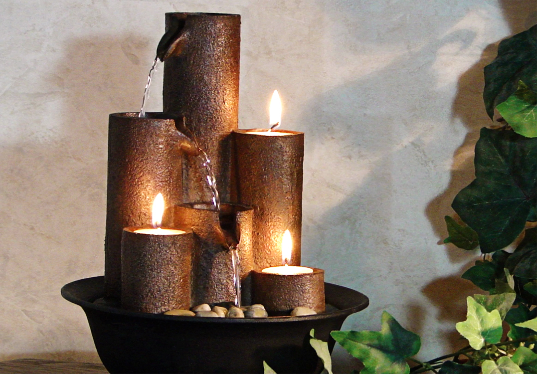 Image of: Tabletop Fountains Design