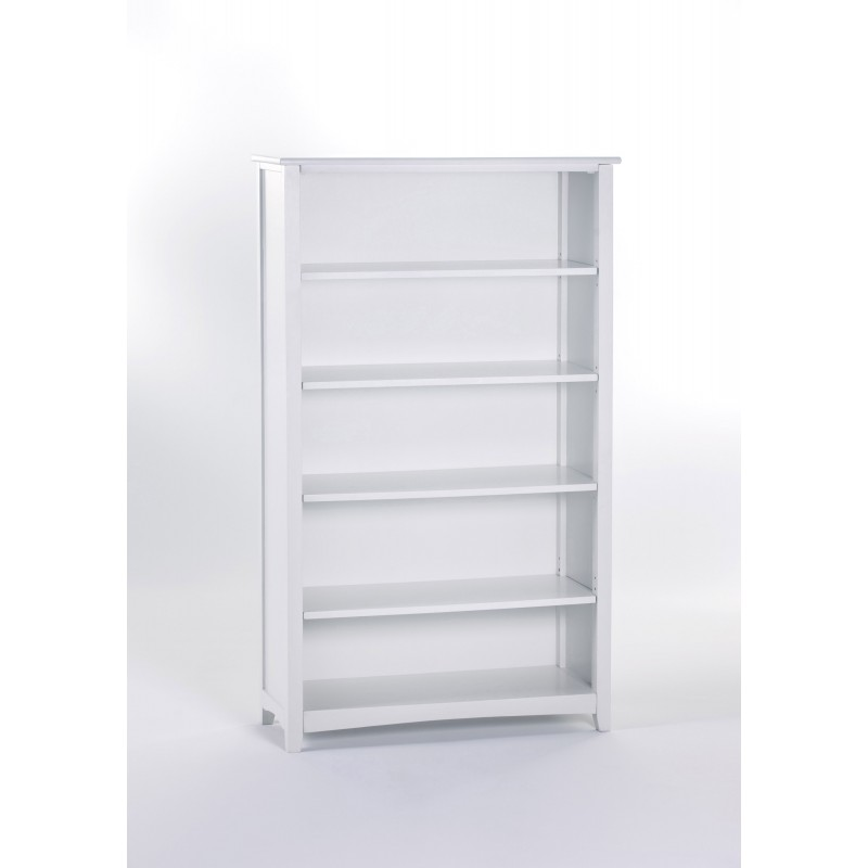 Image of: Tall White Bookcase   clam