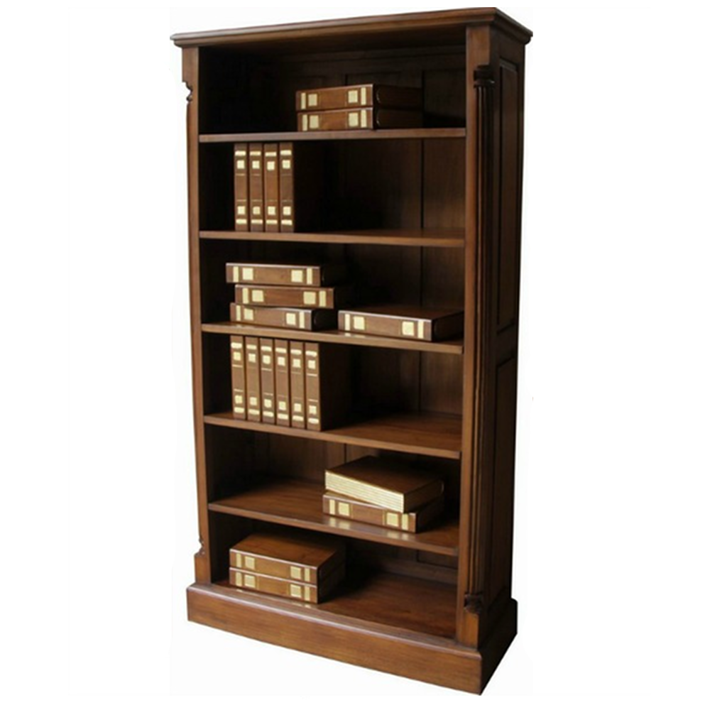 Image of: Tall narrow bookcase large