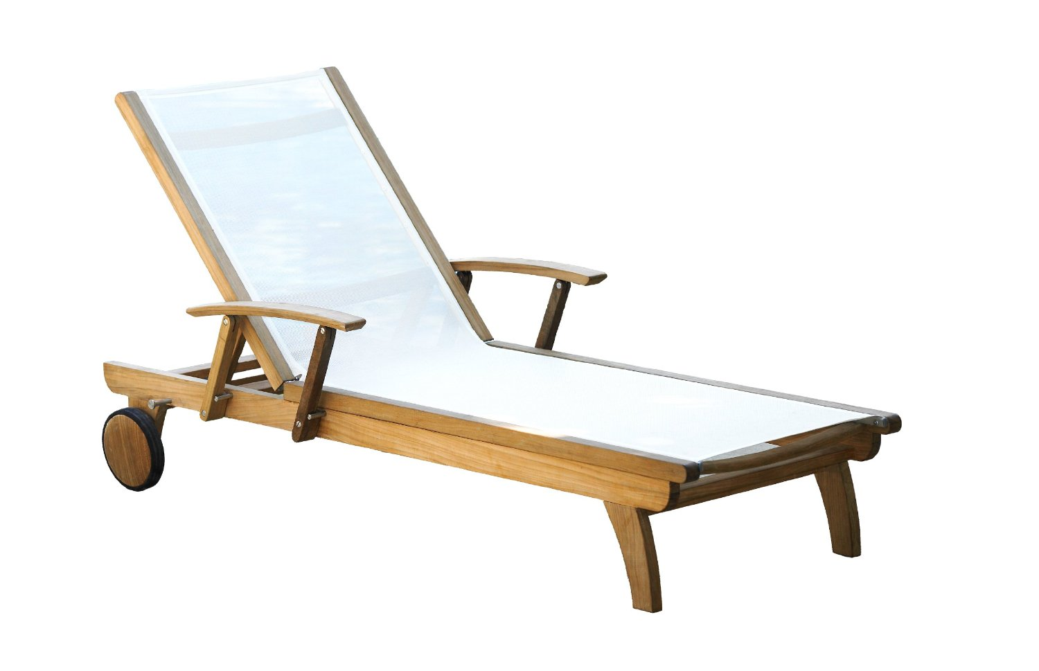 Image of: Teak Lounge Chair Design