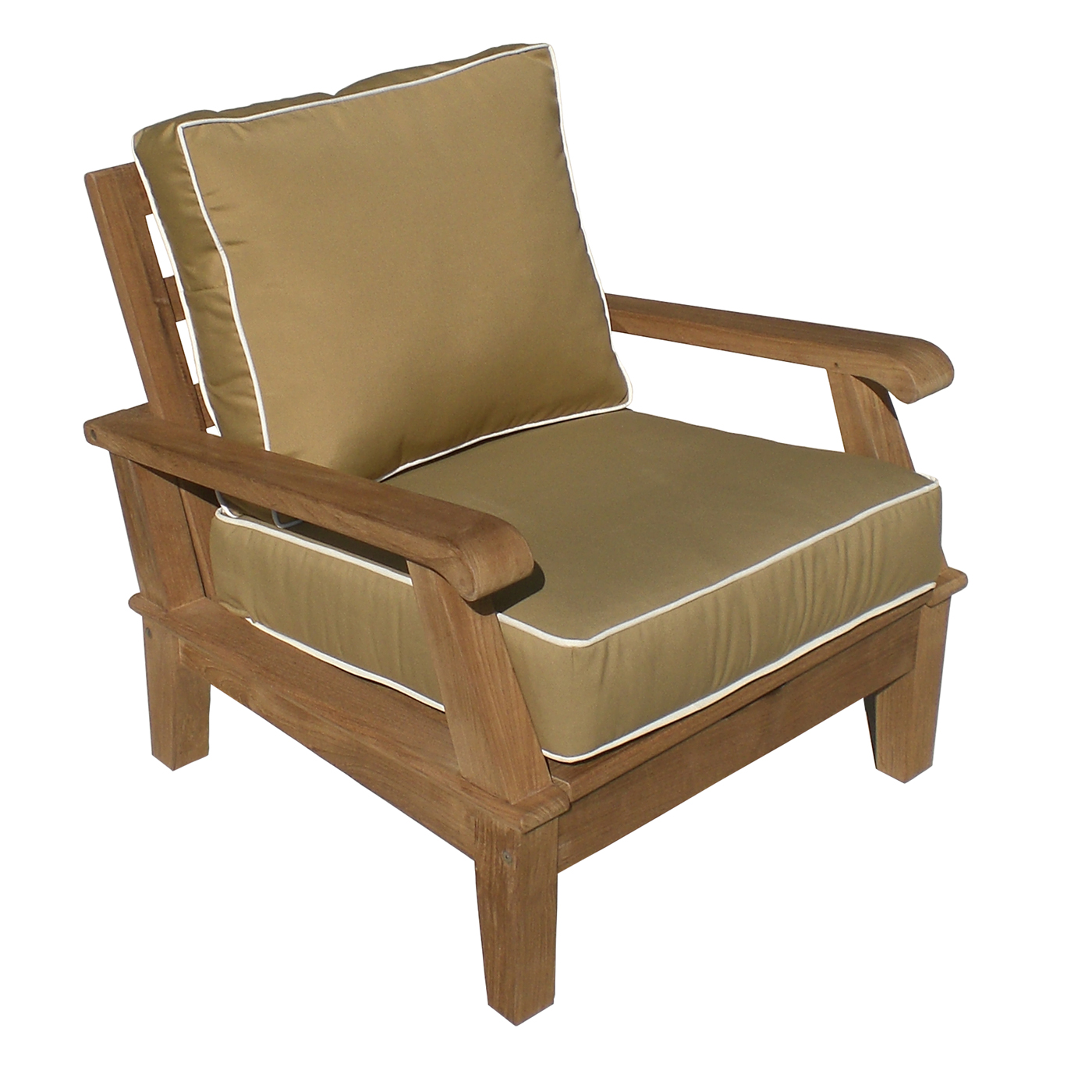 Image of: Teak Lounge Chair Image