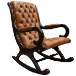 Teak Rocking Chair Picture