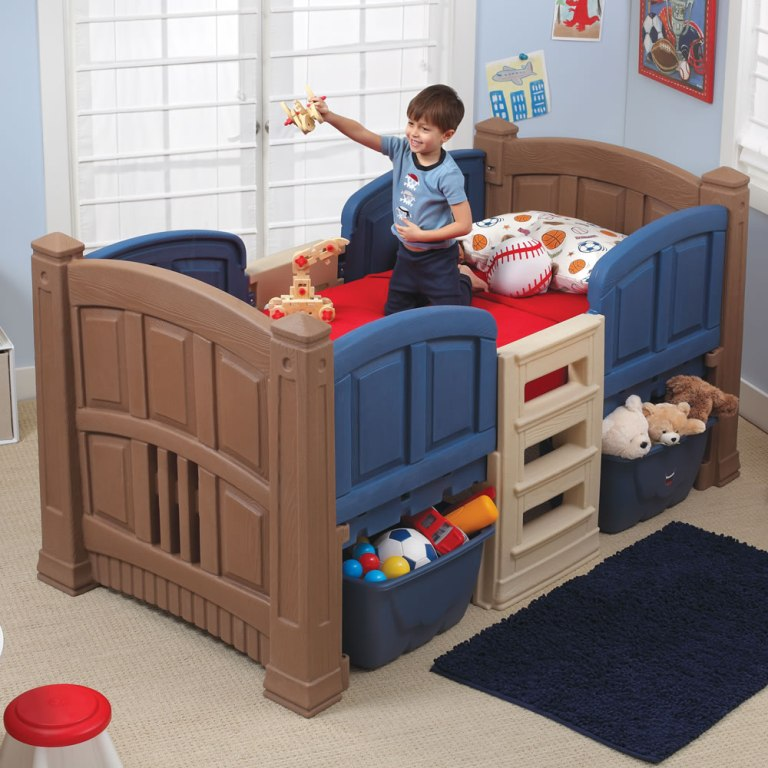 Image of: Toddler Twin Bed Set