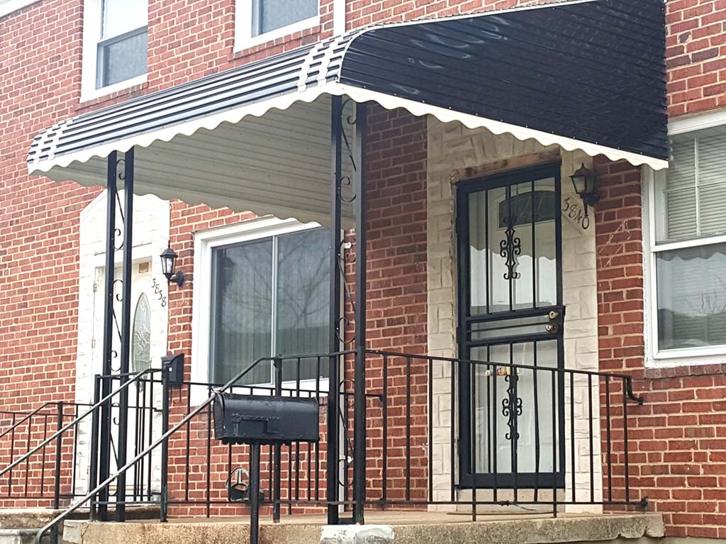 Image of: Top Aluminum Awnings Ideas
