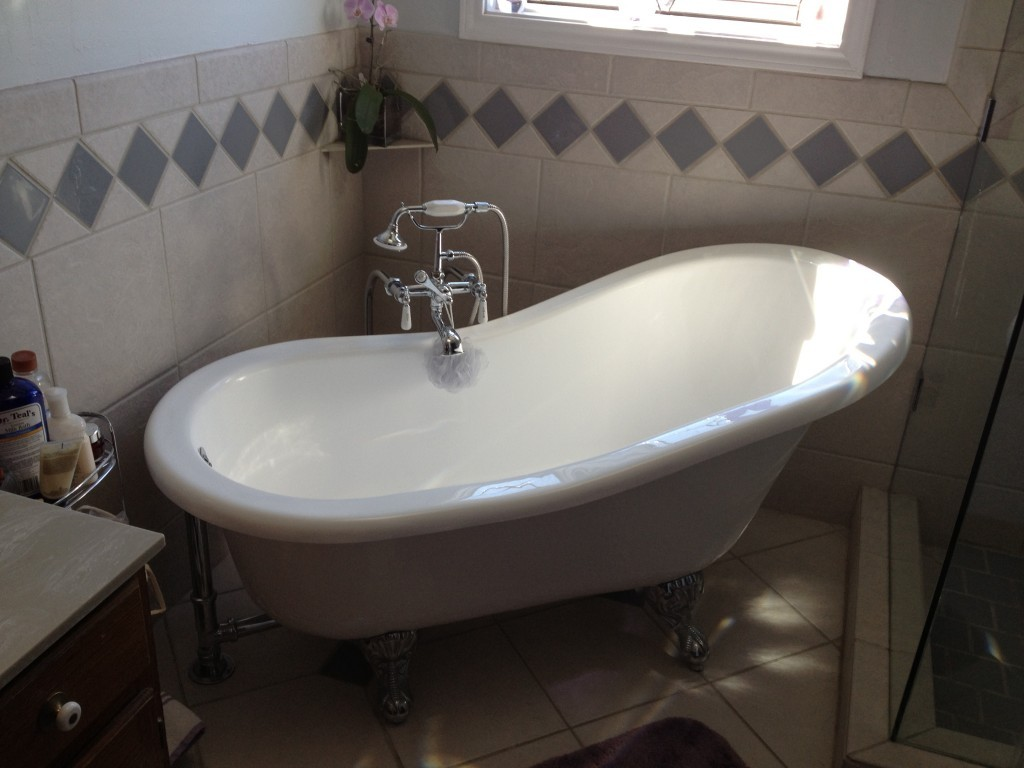 Image of: top clawfoot tub shower